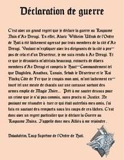 declaration de guerre 2