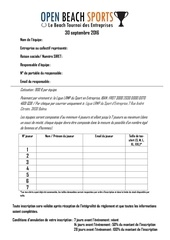 Fichier PDF fiche inscription open beach sports