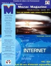 newsletter muzacmagazine septembre 2016