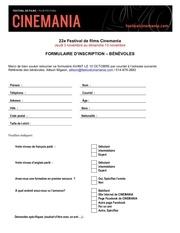 formulaire inscription be ne voles 2016