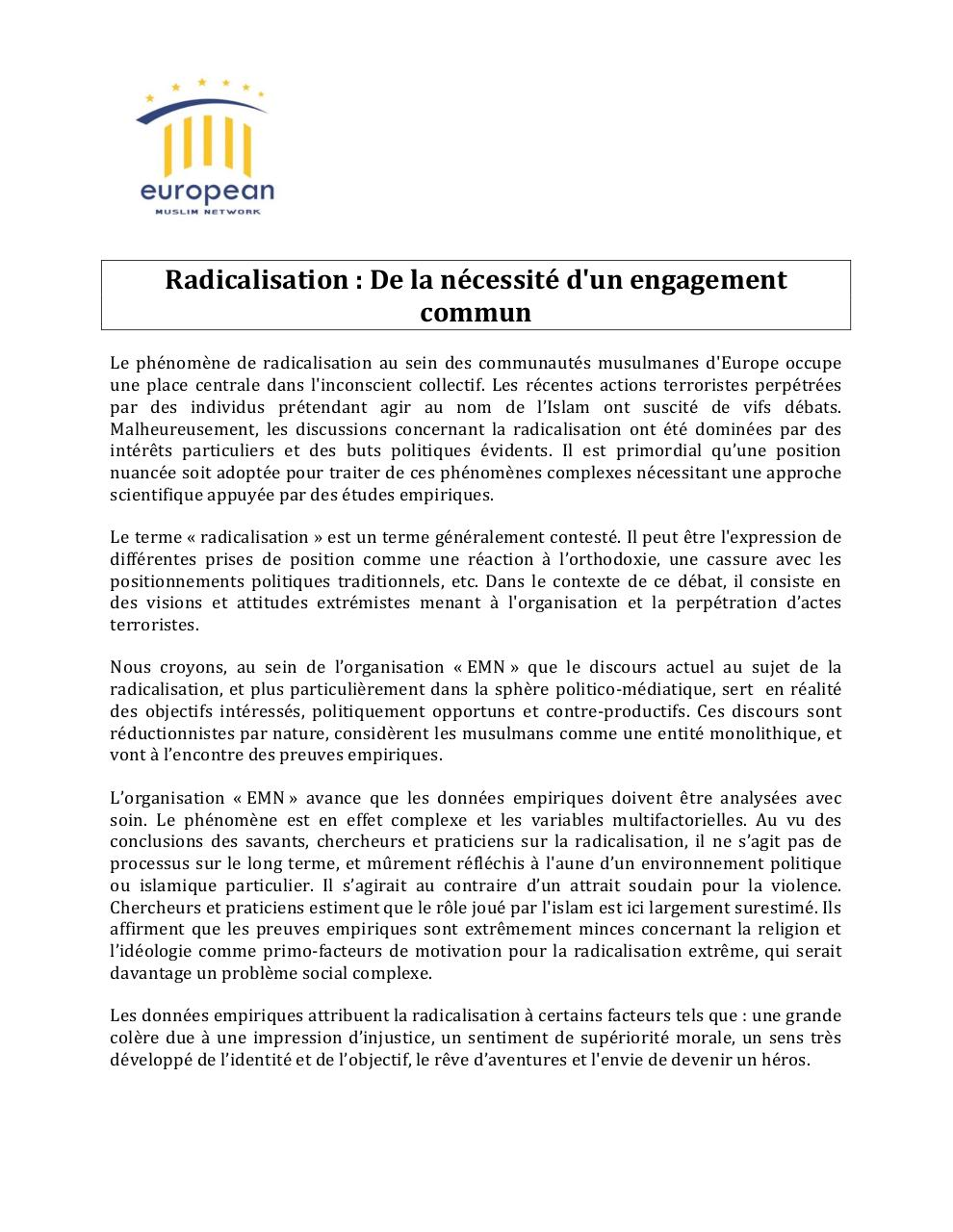 Traduction EMN Radicalisation PDF.pdf - page 1/7