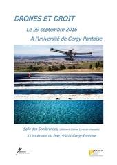 colloque drones et droit 29 septembre 2016