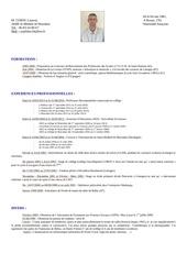 Fichier PDF cv facebook