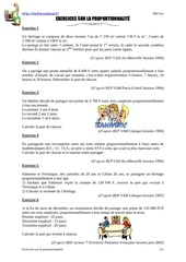 Fichier PDF exercices proportionnalite bep tertiaire