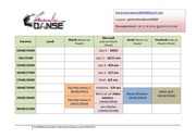 planning 2016 2017 generation danse