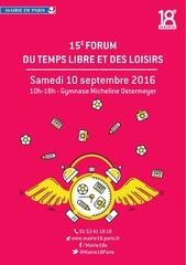 flyer forum du temps libre et loisirs 2016