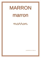 Fichier PDF marron