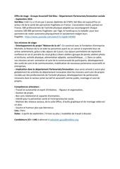 Fichier PDF offre de stage siel bleu