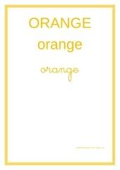 Fichier PDF orange