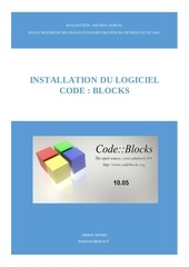 Fichier PDF procedure d installation du logiciel code blocks