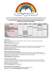 Fichier PDF programme des ateliers