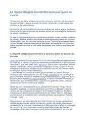 Fichier PDF regime cetogene clef guerison cancer