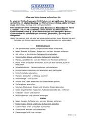 auszug checkliste