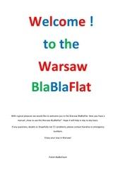 howtousethewarsawblablaflat