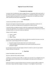 reglement tournoi fifa 16 tunisie