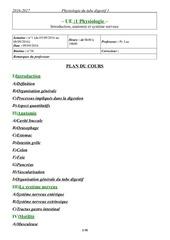 09 09 16 8h00 10h00 physiologie digestive pr luc b38 b34