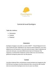 Fichier PDF contrat de travail quotagora