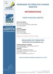 agefice informations