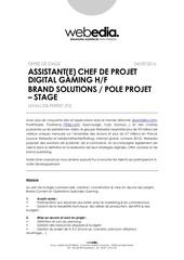 Fichier PDF assistant chef de projet digital brand solutions projet