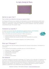 Fichier PDF champ de fleurs