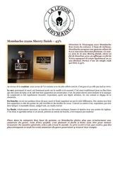 Fichier PDF fiche de degustation mombacho 21ans sherry finish 43