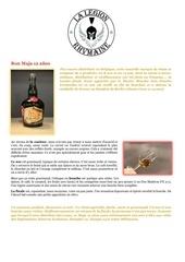 Fichier PDF fiche de degustation ron maja 12 anos