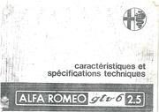 Fichier PDF gtv6 caracteristique et specifitions technique