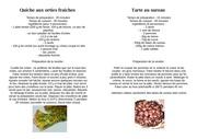 recettes 17 sept