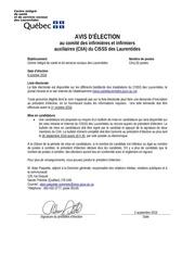 Fichier PDF avis d election ciia