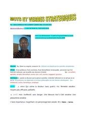 Fichier PDF mots et verbes strategiques