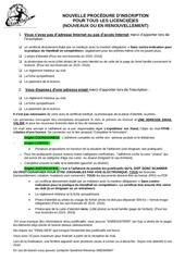 nouvelle procedure dinscription 2016 2017