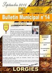 bulletin septembre 2016