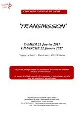 reglement concours transmission 2017