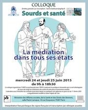 actes du colloque sourds et sante des 24 et 25 juin 2015