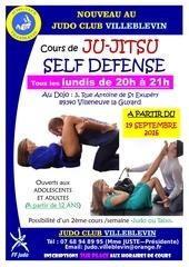 affiche jujitsu jc villeblevin 2016 2017