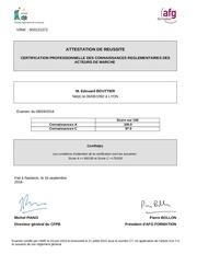 Fichier PDF certification amf