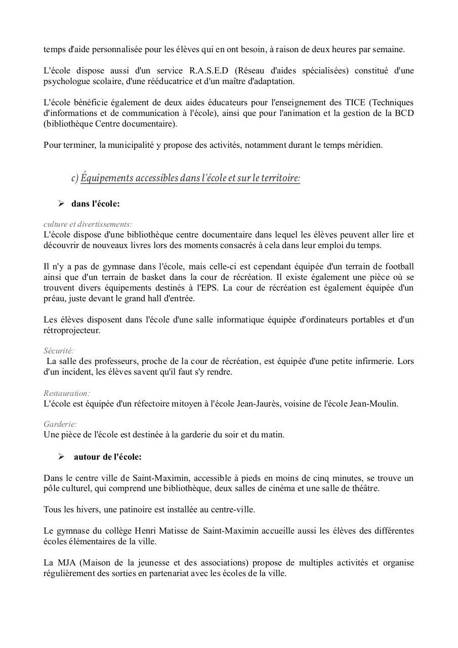 Rapport De Stage Pdf Fichier Pdf