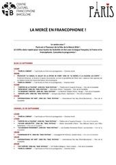ccfb programme de la merce en francais