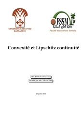 convexite et lipshitzianite