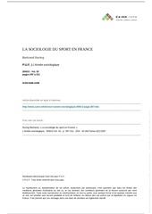 Fichier PDF football socio foot france