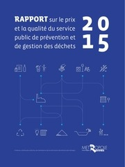 rapport annuel dechets 2015
