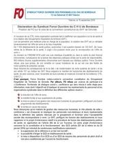 declaration f o c h u de bordeaux c t e du 19 09 2016