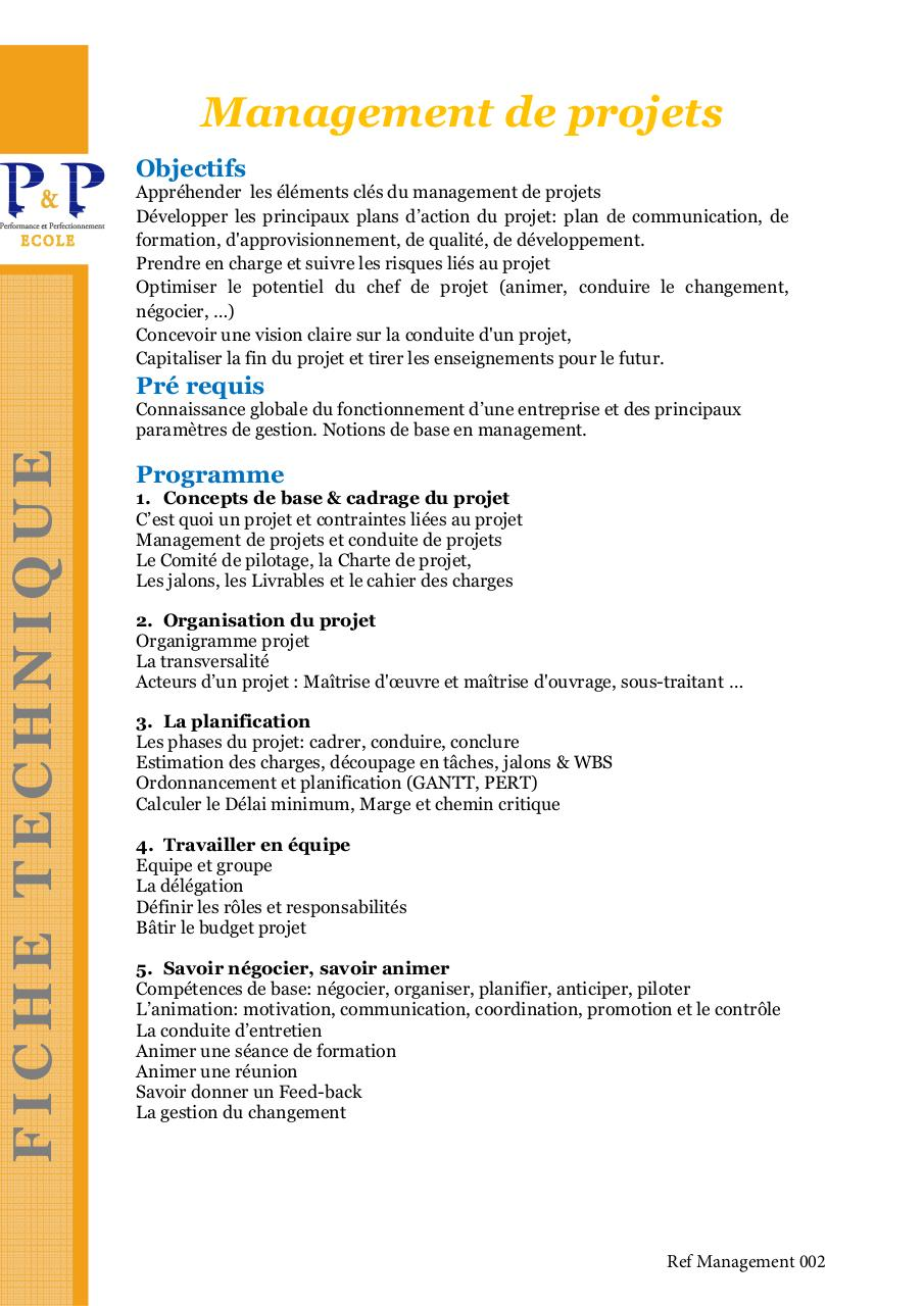 Ref Management 002 FT P&P Management de projet .pdf - page 1/2