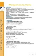ref management 002 ft p p management de projet