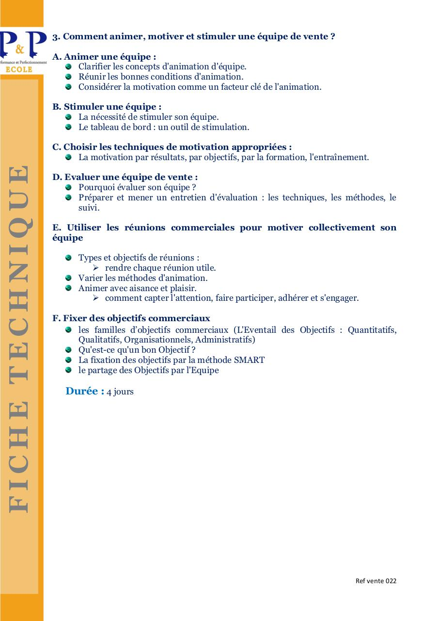 Ref vente 022 FT P&P Manager sa force de vente .pdf - page 2/2