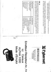 Fichier PDF alpha 1000 am fm cybernet