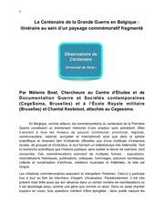 Fichier PDF bost et kesteloot belgique