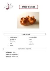 Fichier PDF brioche ronde 50g