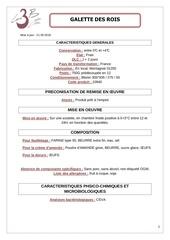 Fichier PDF galette des rois