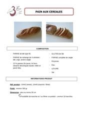 pain aux cereales 400g